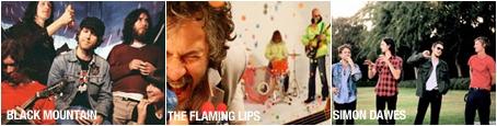 Black Mountain, The Flaming Lips, Simon Dawes