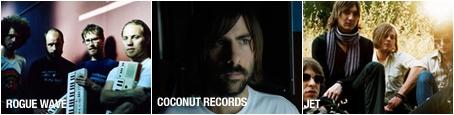 Rogue Wave, Coconut Records, Jet