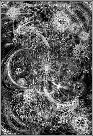 Yog-Sothoth (The Lurker at the Threshold, The Key and the Gate, The Beyond One, Opener of the Way, The All-in-One and the One-in-All)