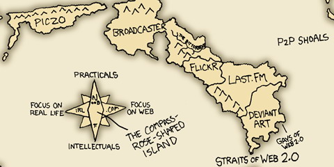 xkcd - Straits of Web 2.0