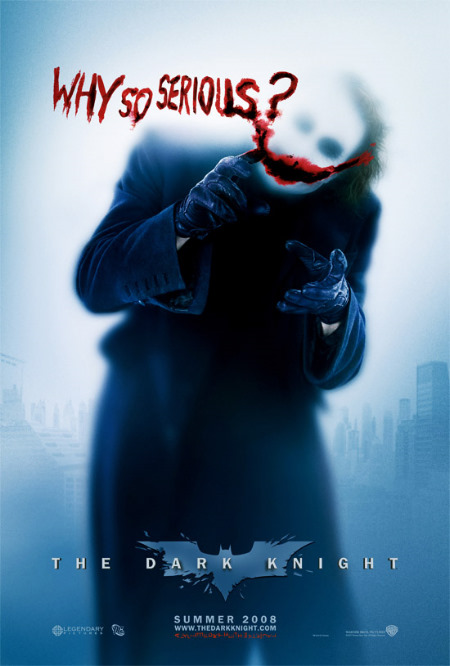 The Dark Knight - The Joker - Why So Serious?