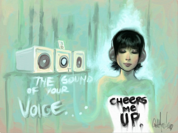 The Sound of Your Voice - Cheers Me Up