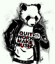 Pandasm! Quit Work. Make Music.
