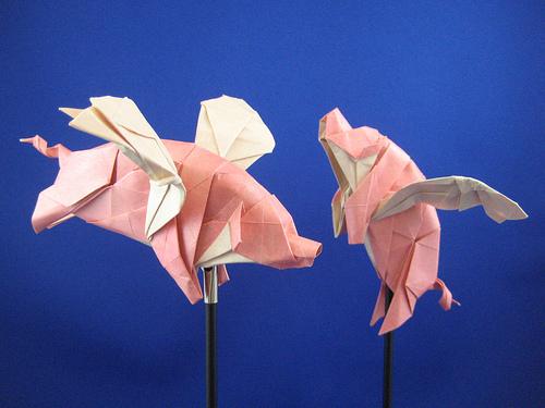 Joseph Wu Origami - Swine Flew